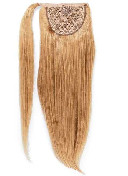 16 Inch Clip In Ponytail Extension #16 Light Golden Blonde