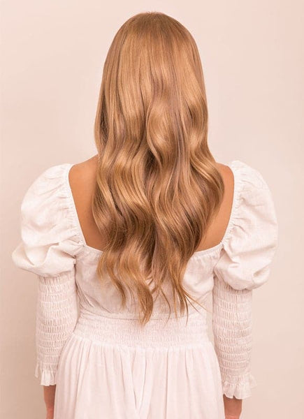 16 Inch Ultimate Volume Clip in Hair Extensions #18 Golden Blonde
