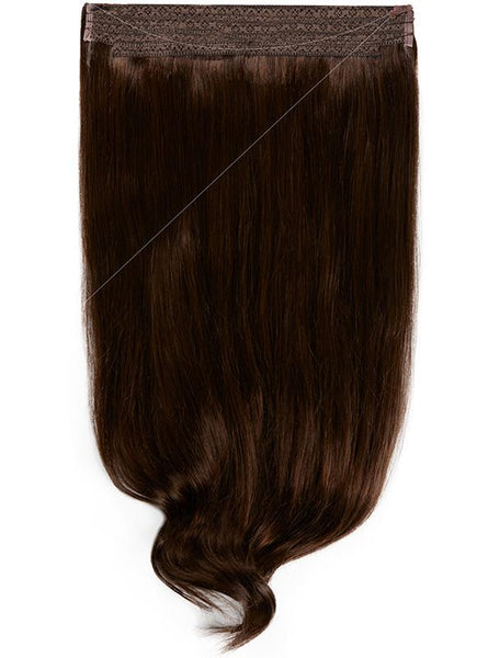 22 Inch Halo Hair Extensions #1C Mocha Brown