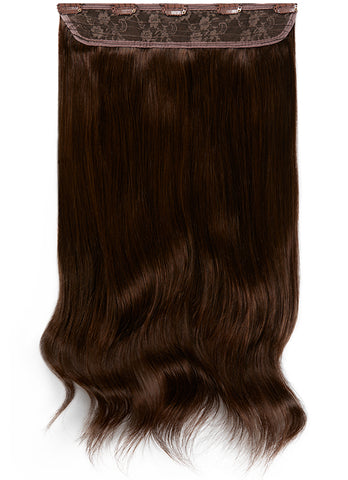20 Inch Clip In One Piece/ Volumiser #1C Mocha Brown