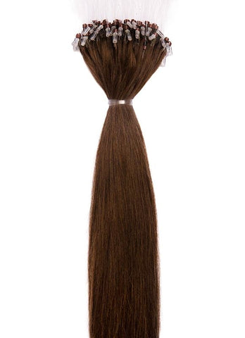 20 Inch Micro Loop Hair Extensions #1C Mocha Brown