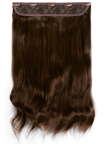 20 Inch Clip In One Piece/ Volumiser #2 Dark Brown