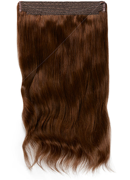 22 Inch Halo Hair Extensions #2 Dark Brown