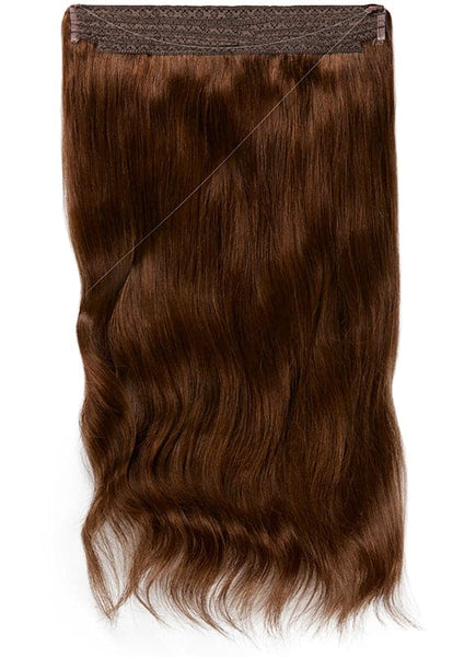 16 Inch Halo Hair Extensions #2 Dark Brown