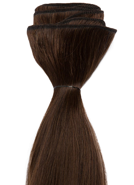 20 Inch Weave/ Weft Hair Extensions #2 Dark Brown
