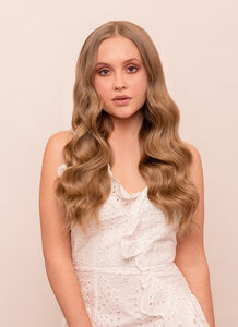 20 Inch Ultimate Volume Clip in Hair Extensions #18 Golden Blonde