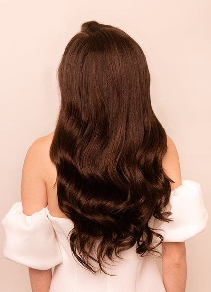 20 Inch Remy Tape Hair Extensions #4 Medium Brown