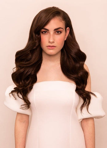20 Inch Ultimate Volume Clip in Hair Extensions #2 Dark Brown