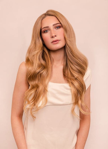 20 Inch Nail/ U-Tip Hair Extensions #16 Light Golden Blonde
