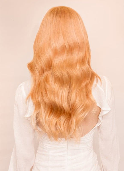 20 Inch Nail/ U-Tip Hair Extensions #27 Strawberry Blonde