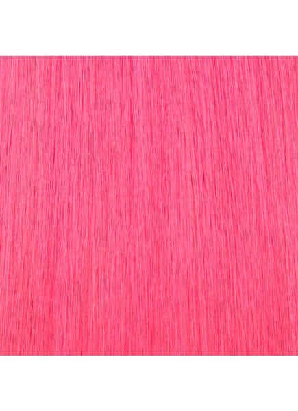 20 Inch Nail/ U-Tip Hair Extensions #Hot Pink
