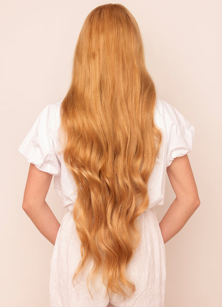 30 Inch Ultimate Volume Clip in Hair Extensions #14 Dark Blonde