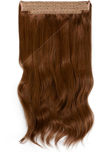 22 Inch Halo Hair Extensions #4 Medium Brown