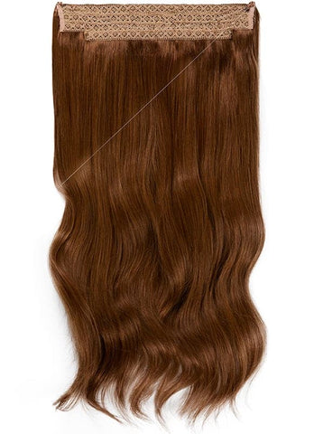 16 Inch Halo Hair Extensions #4 Medium Brown
