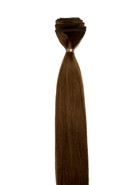 20 Inch Weave/ Weft Hair Extensions #4 Medium Brown