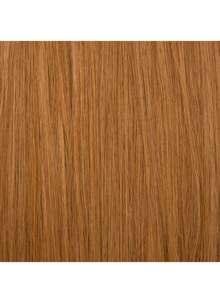 24 Inch Micro Loop Hair Extensions #6 Light Chestnut Brown
