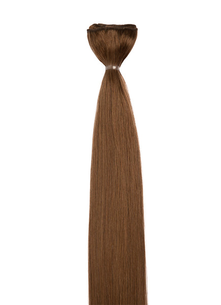 20 Inch Weave/ Weft Hair Extensions #6 Light Chestnut Brown