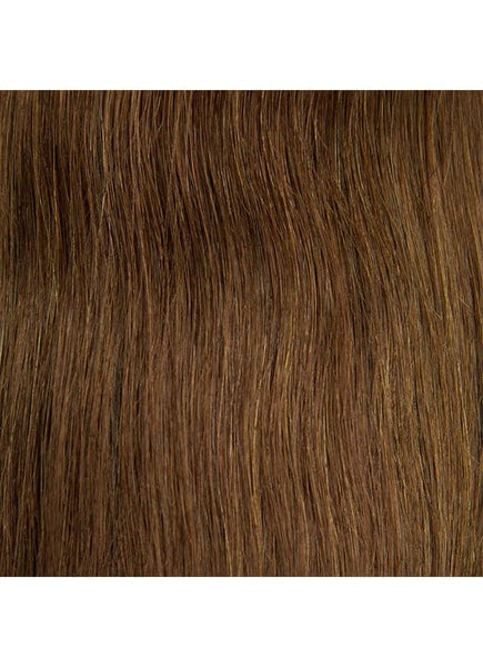 20 Inch Tape Hair Extensions #6 Light Chestnut Brown