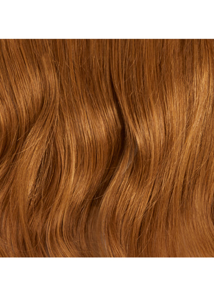 22 Inch Deluxe Clip in Hair Extensions #6 Light Chestnut Brown