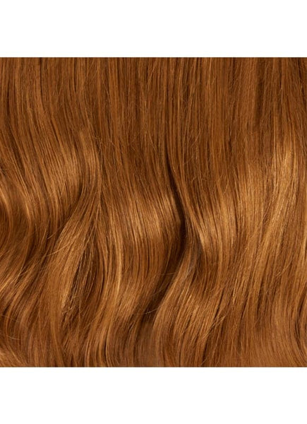 16 Inch Full Volume Clip in Hair Extensions #6 Light Chestnut Brown