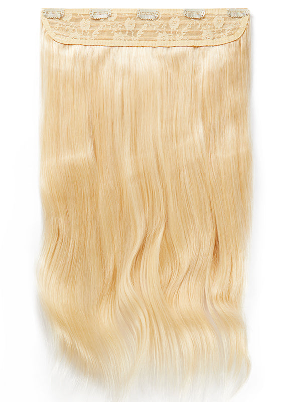 20 Inch Clip In One Piece/ Volumiser #60 Light Blonde