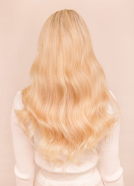 20 Inch Remy Tape Hair Extensions #60 Light Blonde