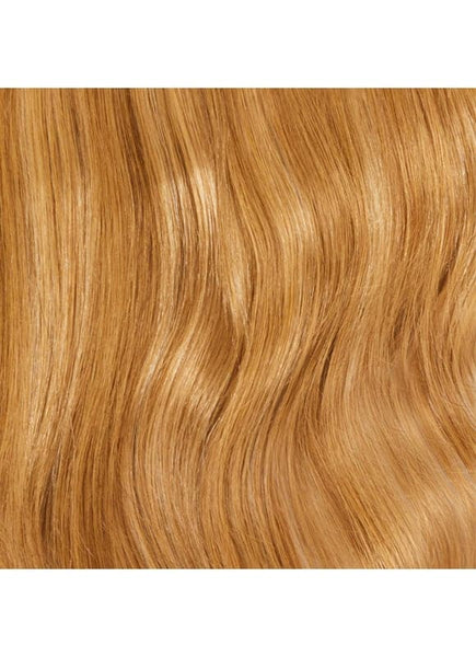 16 Inch Ultimate Volume Clip in Hair Extensions #8/613 Brown/ Blonde Mix