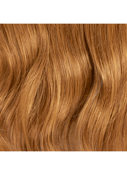 24 Inch Deluxe Clip in Hair Extensions #8 Chestnut Brown