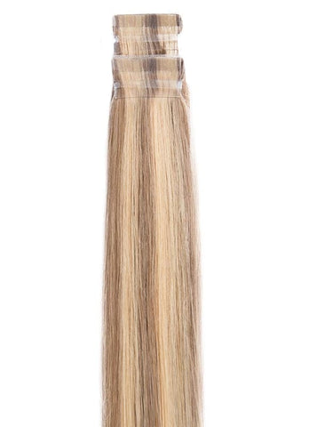 20 Inch Tape Hair Extensions #P14/24K Highlights