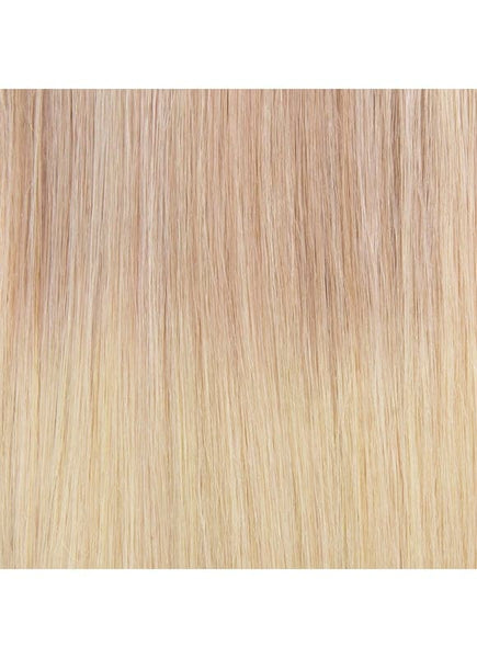 20 Inch Remy Tape Hair Extensions #T/Grey/18+60 Ombre