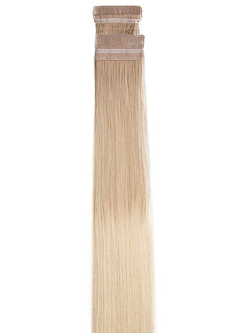 20 Inch Tape Hair Extensions #T/Grey/18+60 Ombre