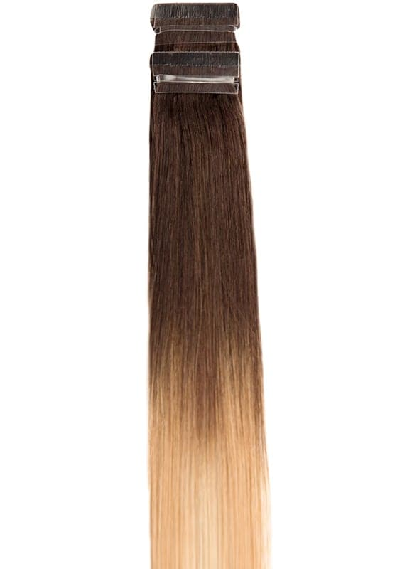 20 Inch Tape Hair Extensions #T2/27+T2/60 Ombre