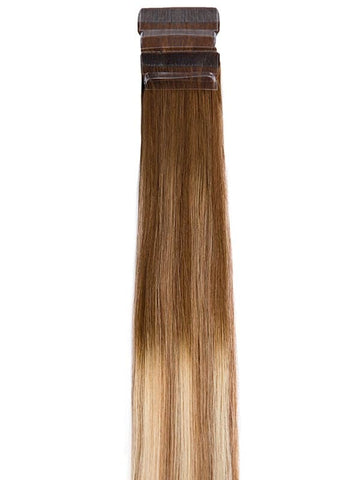 20 Inch Tape Hair Extensions #T8/60+T8/14 Balayage