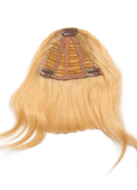 Clip in Fringe/ Bangs #16 Light Golden Blonde
