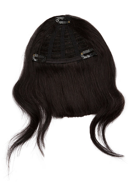 Clip in Fringe/ Bangs #1B Natural Black