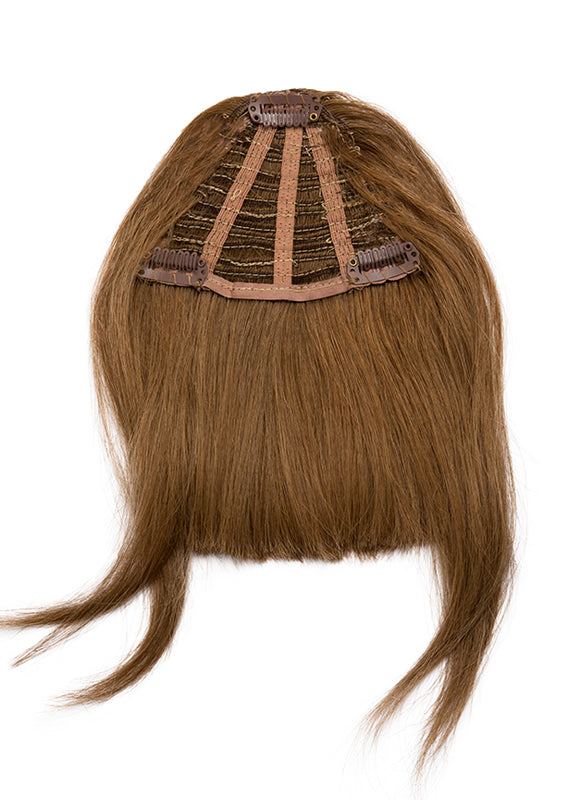 Clip in Fringe/ Bangs #4 Medium Brown