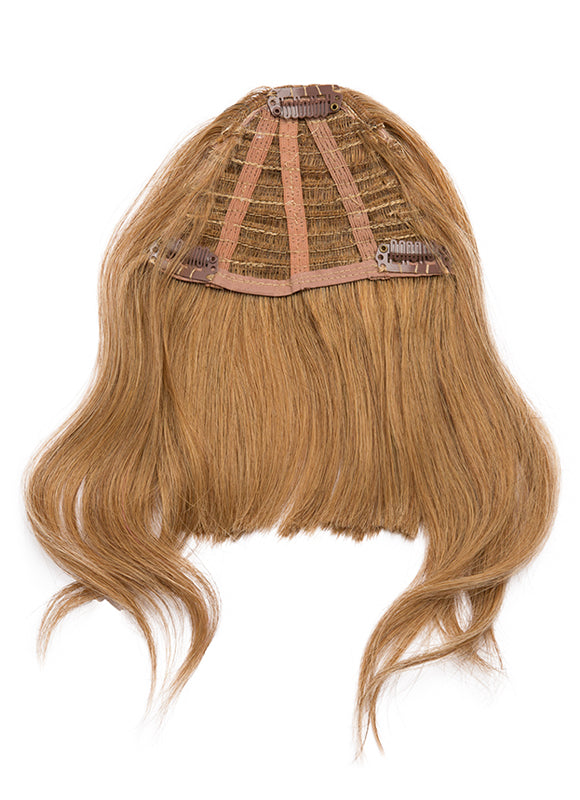 Clip in Fringe/ Bangs #8 Chestnut Brown