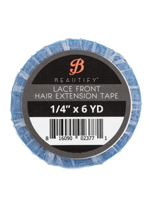 "Beautify Lace Front Hair Extension Tape 1/4"" x 6 YD"