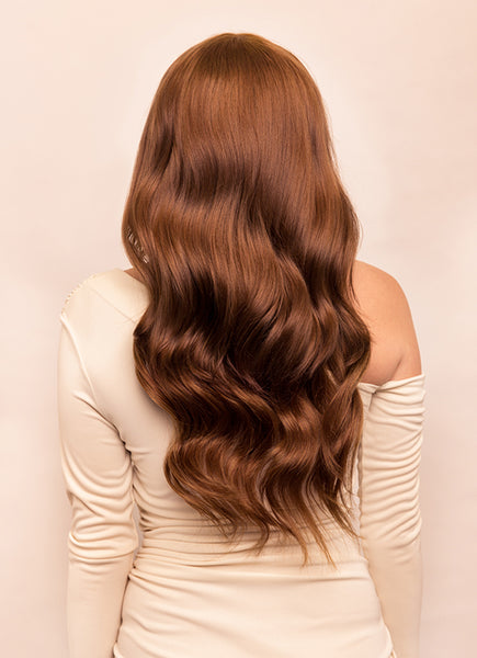 Clip In One Piece/ Volumizer #4 Medium Brown