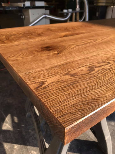Custom White Oak Table Top