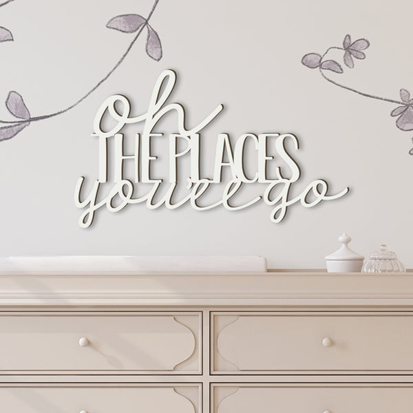 Oh The Places You'll Go Cutout
