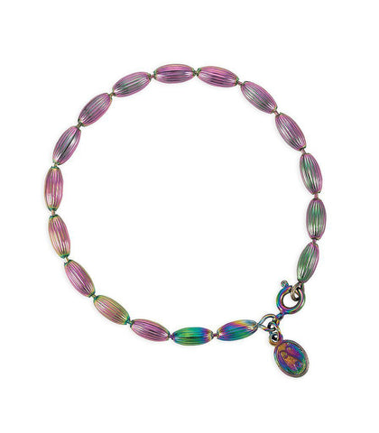 Charleston Rice Bead Bracelet (Rainbow Row)