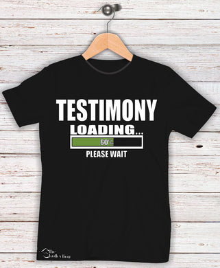 Testimony Loading Please Wait