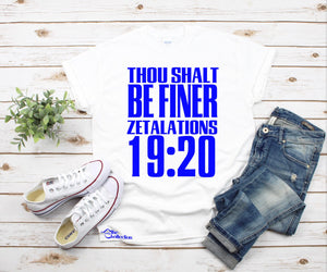Thou Shalt  Be Finer - Zetalations 1920