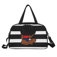 Load image into Gallery viewer, Knot Today! Gym/Overnight Bag (Red)