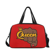 Load image into Gallery viewer, Queen Fist Gym/Overnight Bag