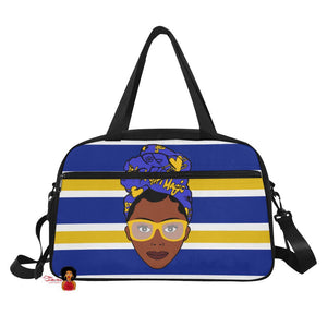 Black Girl Magic Sigma Gama Rho Inspired Gym/Overnight Bag
