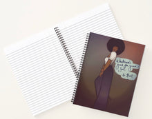 Load image into Gallery viewer, Whatever's Good For Your Soul ... Do That! Spiral Notebook