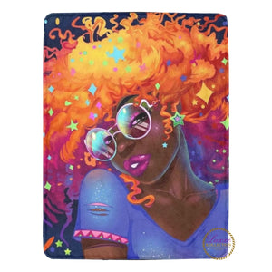 The Cosmo Fro Fleece Blanket