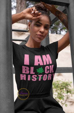 I Am Black History 1908 AKA T-shirt